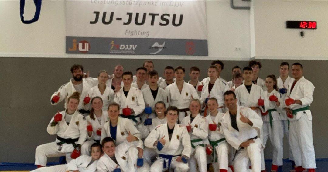 Bild: Stützpunkttraining der Ju-Jutsu Nationalmannschaft in Siegen